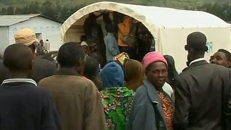 Miles de congoleños huyen de la violencia sistemática que arrasa sus pueblos