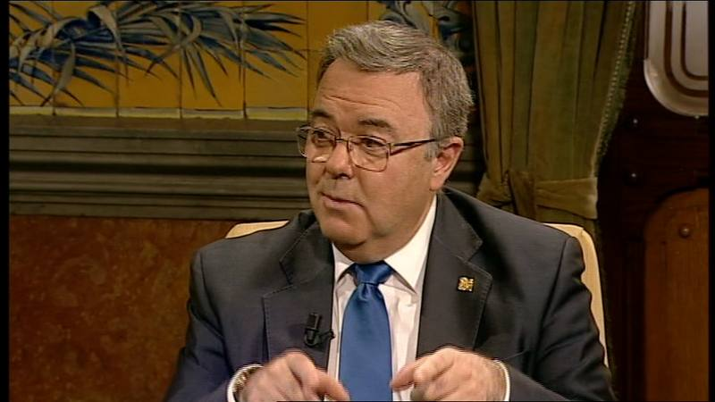 Guillermo Cisneros. Rector de la UPM