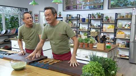 Torres en la cocina - Guiso de verdinas y brownie