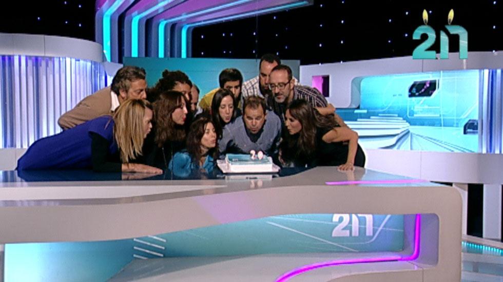 Hace dos décadas que nació en Televisión Española La 2 Noticias