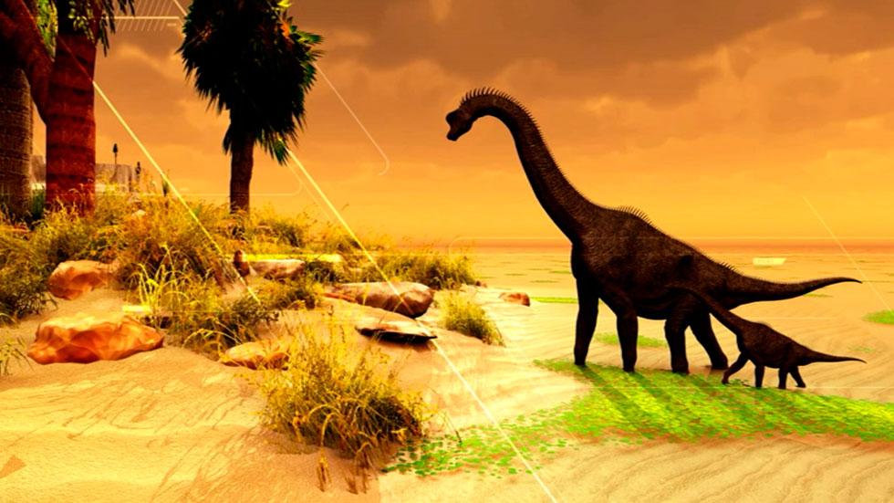 Hallan el fósil único de una nueva especie de dinosaurio saurópodo gigantesco