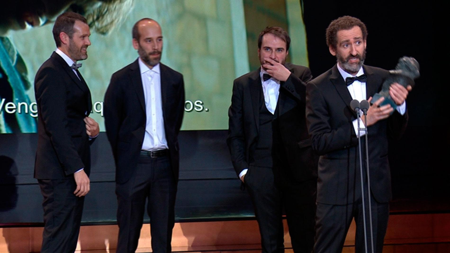 'Handia' logra el premio al Mejor Guión Original en los Goya