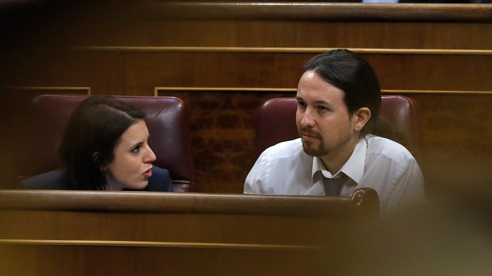 """Hernando protagoniza una polémica por su comentario sobre la """"relación"""" entre Montero e Iglesias"""