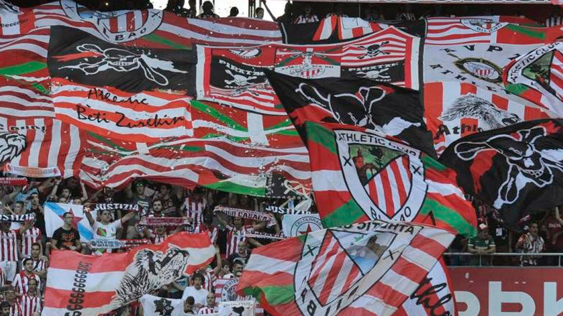 Herri Norte, el grupo ultra del Athletic