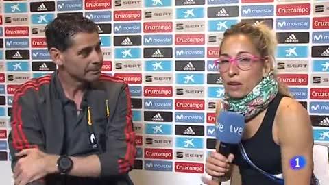 """Hierro: """"Hay un derecho de autor de Lopetegui en este equipo"""""""
