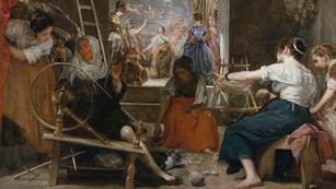 Mirar un cuadro - Las hilanderas (Velázquez)