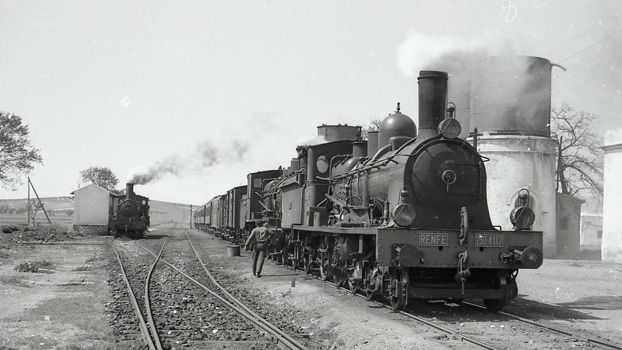 La historia ferroviaria española comienza en el siglo XIX
