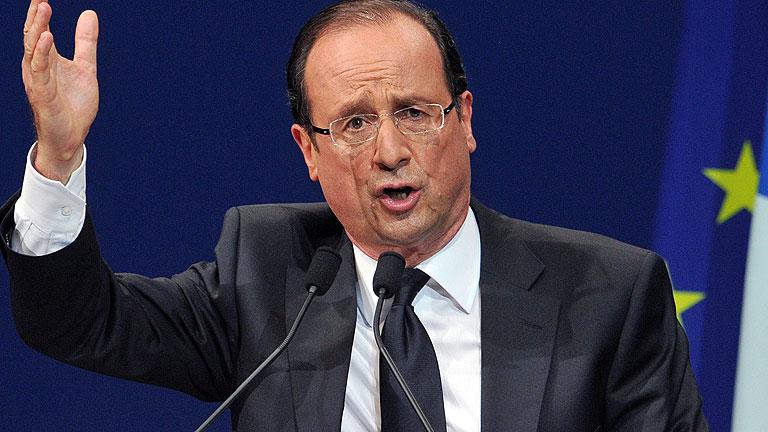 Hollande cree que la perspectiva de su victoria ha hecho cambiar la postura de Merkel