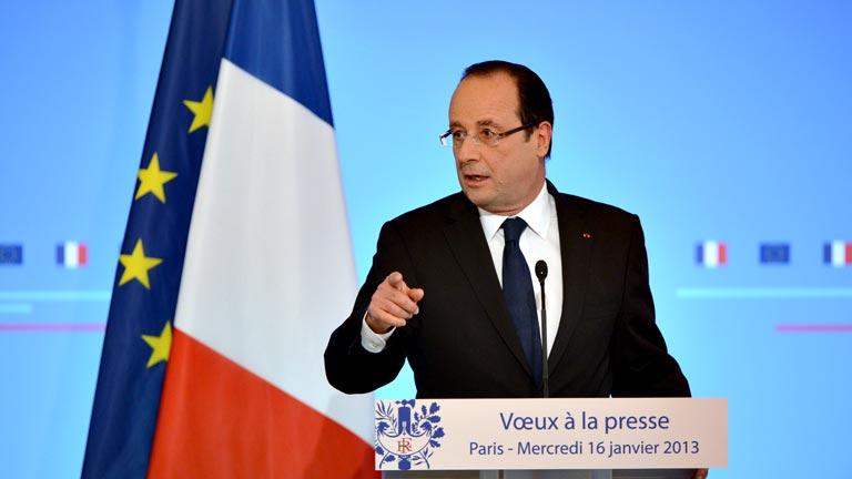 """Hollande: """"Francia no defiende ningún interés económico o político en Mali, defendemos la paz"""""""