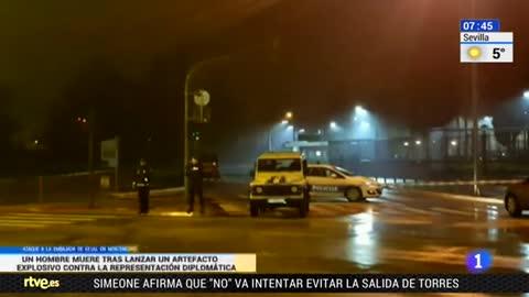 Un hombre se suicida tras atacar la embajada de EE.UU. en Montenegro