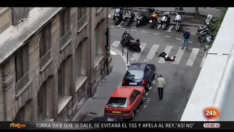 Un hombre mata con un cuchillo a un viandante en París y hiere a otros cuatro antes de ser abatido