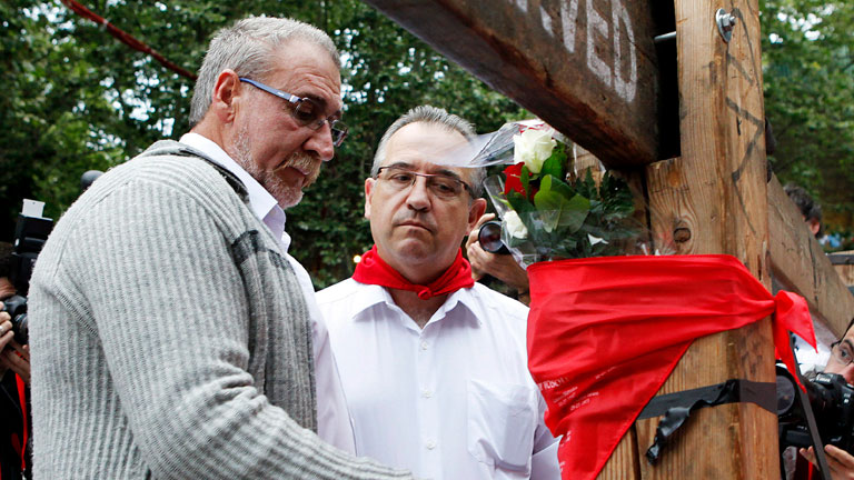 Homenaje a Daniel Jimeno, última víctima mortal de San Fermín
