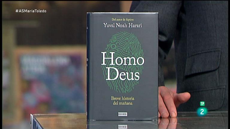 La Aventura del Saber. TVE. Sección 'Libros recomendados'. Homo Deus, breve historia del mañana. Yuval Noah Harari