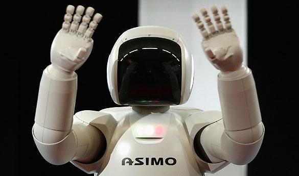 El robot humanoide ASIMO cumple diez años