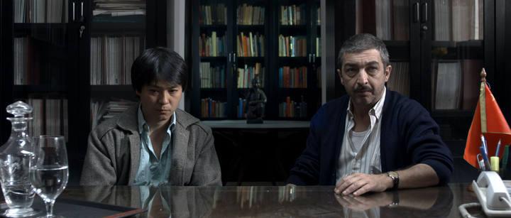 Huang Sheng Huang y Ricardo Darín en una escena de 'Un cuento chino'