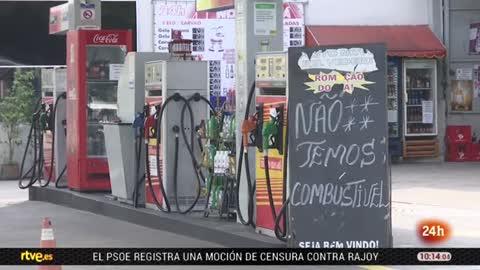 La huelga de camioneros en Brasil amenaza con paralizar el país