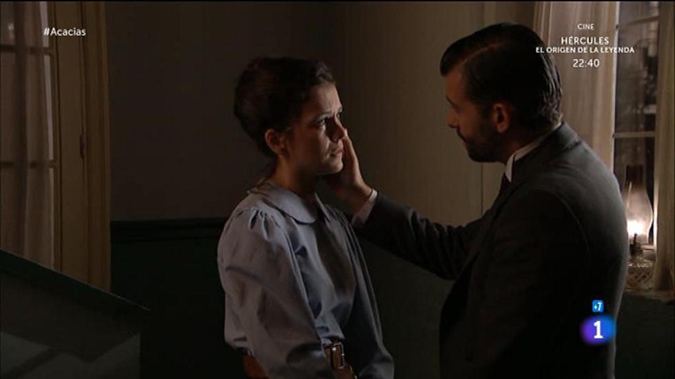Acacias 38 - Huertas agobiada por su mal abogado le pide ayuda a Felipe