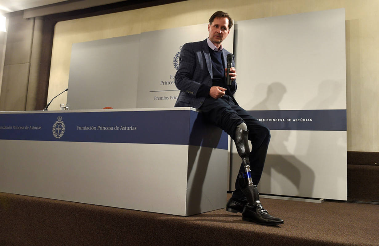 Hugh Herr, premio Princesa de Asturias de Investigación Científica y Técnica