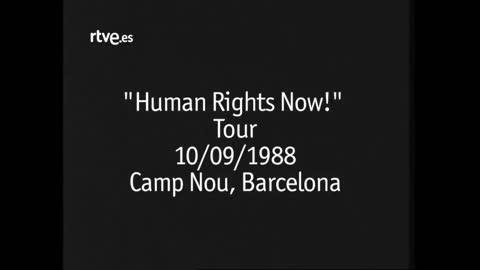 Human Rights Now! Tour - El último de la fila