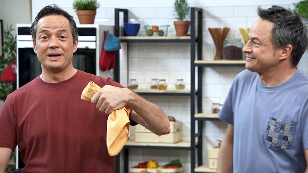Torres en la cocina - Hummus de lentejas y pulled pork