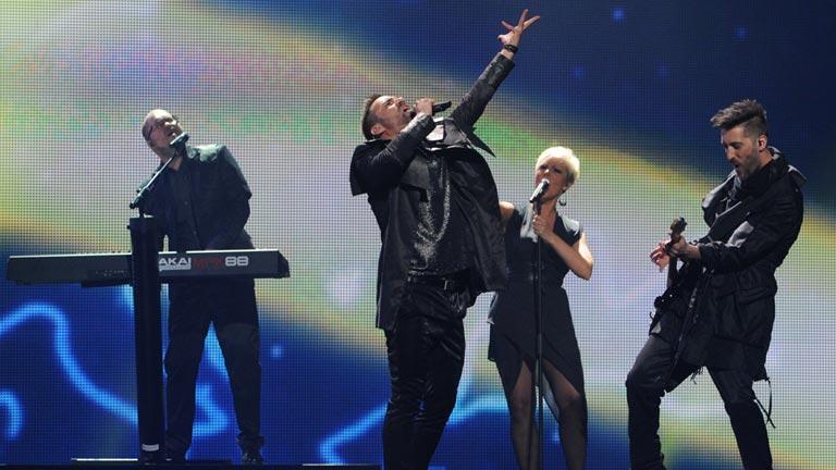 Hungría Eurovisión 2012 - Compact Disco - 1ª semifinal