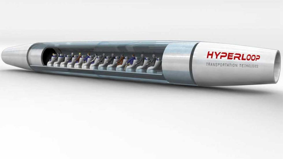 Hyperloop: de Madrid a Tánger en solo 38 minutos