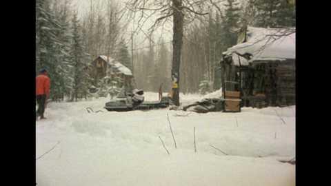 El hombre y la tierra (Serie canadiense) - Iditarod, 1000 millas sobre hielo II