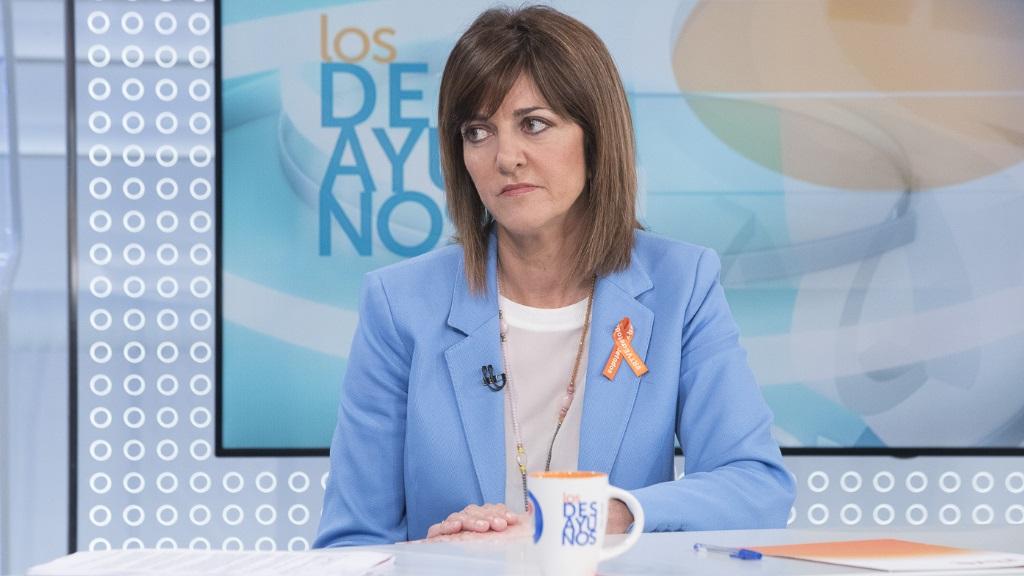 Los desayunos de TVE - Idoia Mendia, secretaria general del PSE-EE