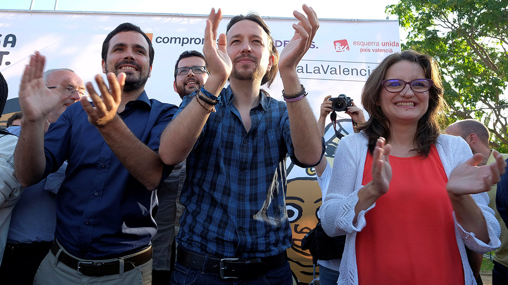 """Iglesias: """"Solo hay un voto útil para ganar al PP, el voto a Unidos Podemos"""""""