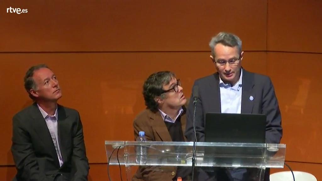 Ignacio Gómez, Juan de Meer y Juan Llorens