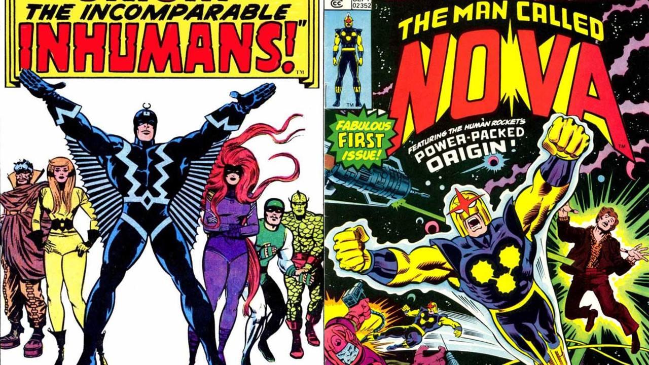 'Los Inhumanos' Y 'Nova', Dos Clásicos De Marvel Comics