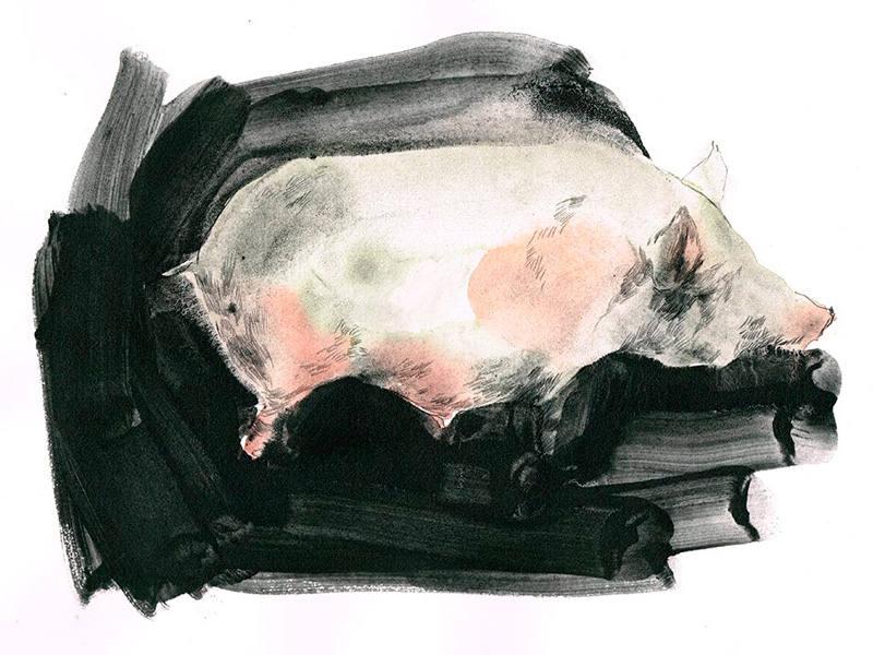 Ilustración de 'Por el olvido'