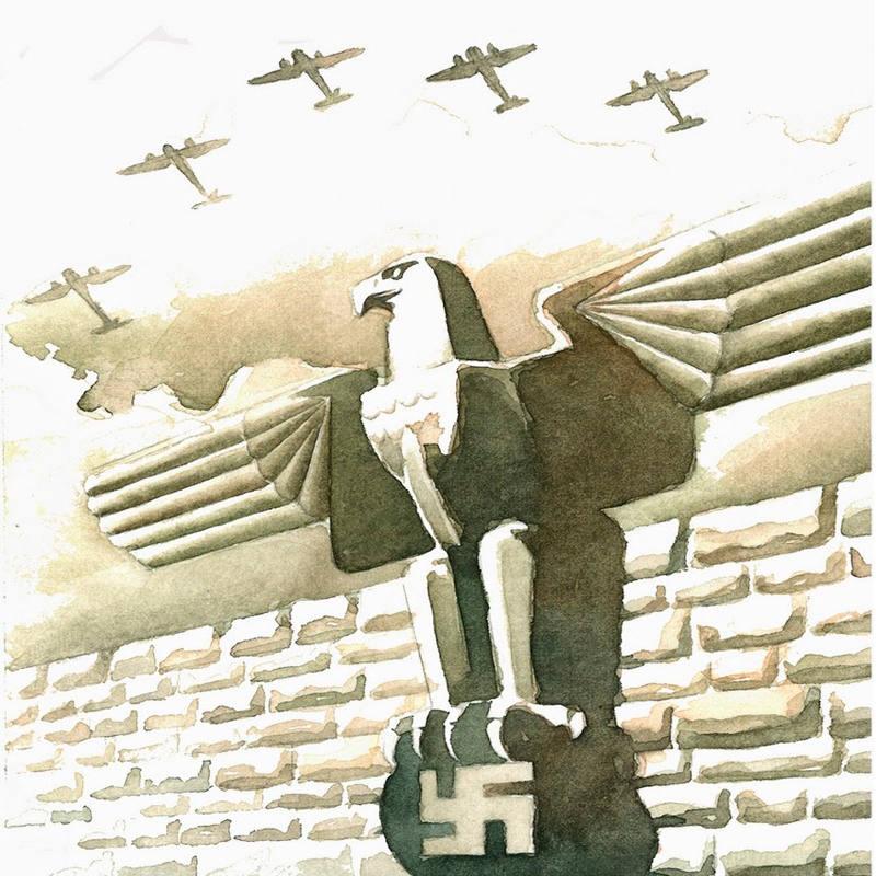 Ilustración de 'La Segunda Guerra Mundial, la novela'