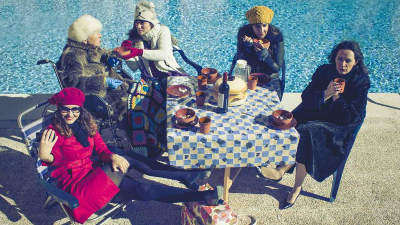 Imagen promocional de 'Verano en diciembre' de Geraldine Leloutre