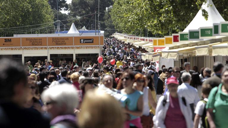 Inaugurada la feria del libro de Madrid