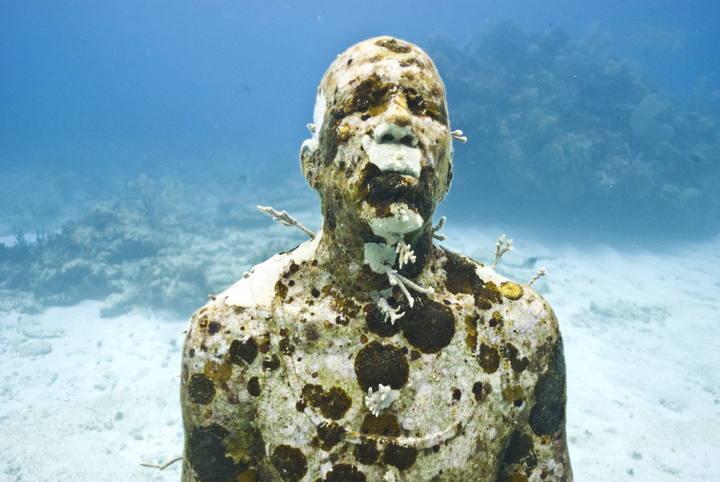 Famosos Inaugurado un museo Subacuático en Cancún con estatuas de Jason  NE54
