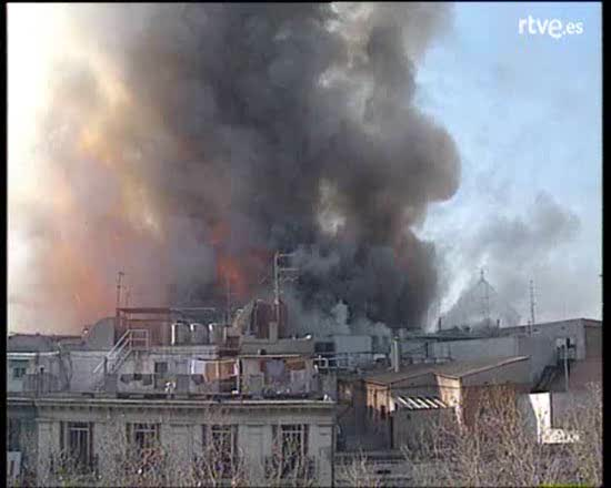 Arxiu TVE Catalunya - Incendi al Liceu