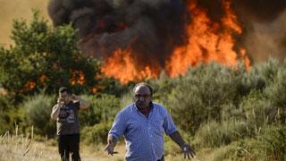El incendio de Quesada sigue sin control y ya ha calcinado 2.000 hectáreas