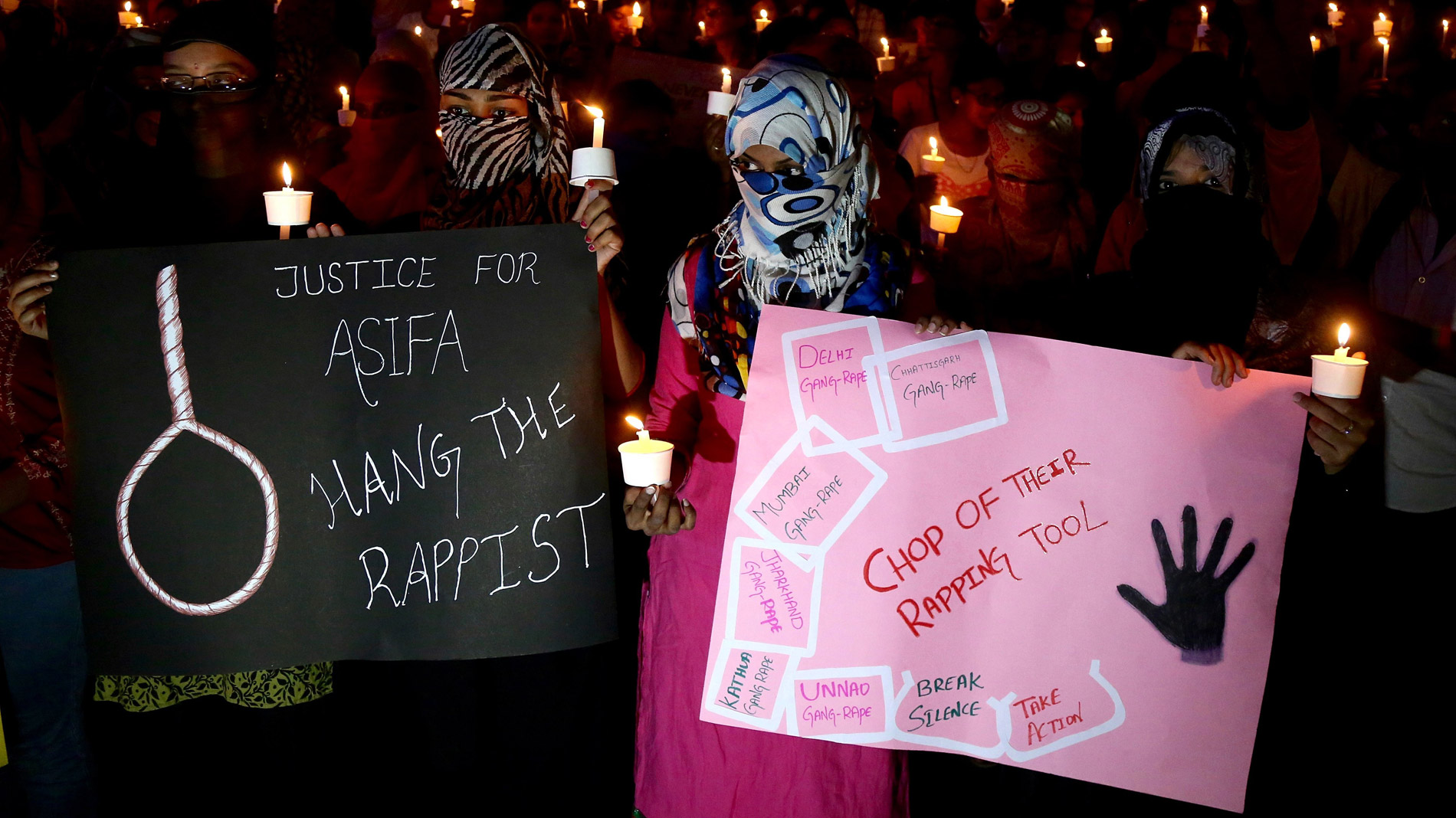 India aplicará la pena de muerte a los violadores de menores de 12 años