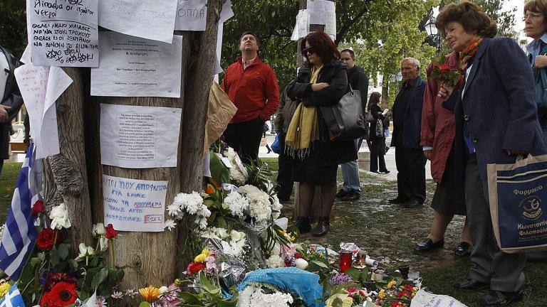 Indignacion en Grecia por el suicidio de un jubilado