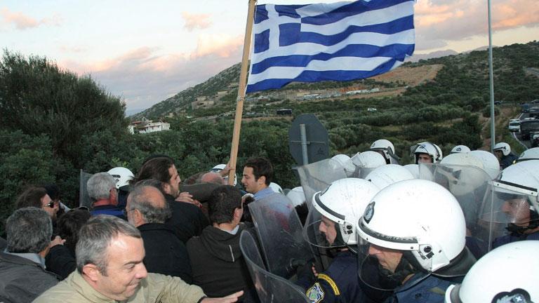 Informe Semanal - La indignación griega