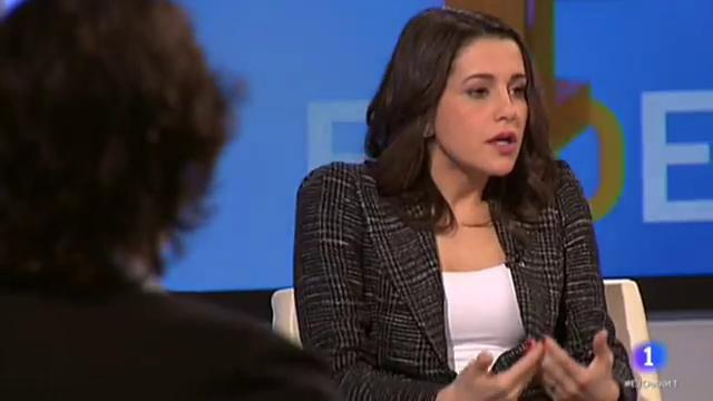 El Debat de La 1 - Inés Arrimadas