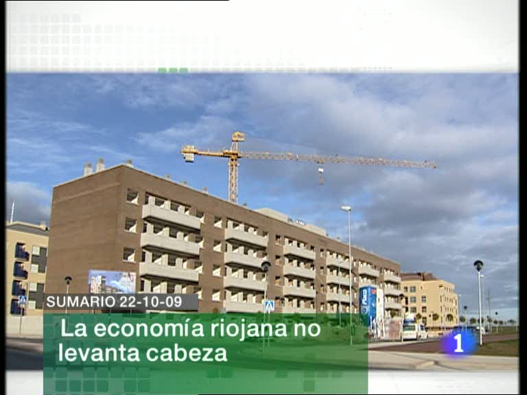 Informativo Telerioja - 22/10/09