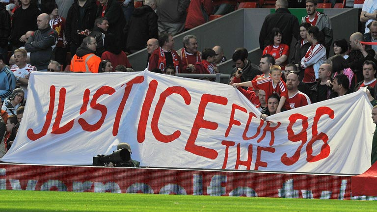 Informe Hillsborough, 96 muertos en el Liverpool-Nottingham Forest