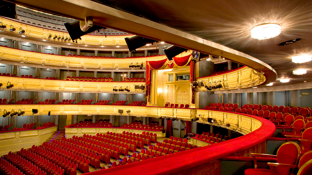 Teatro Real al descubierto