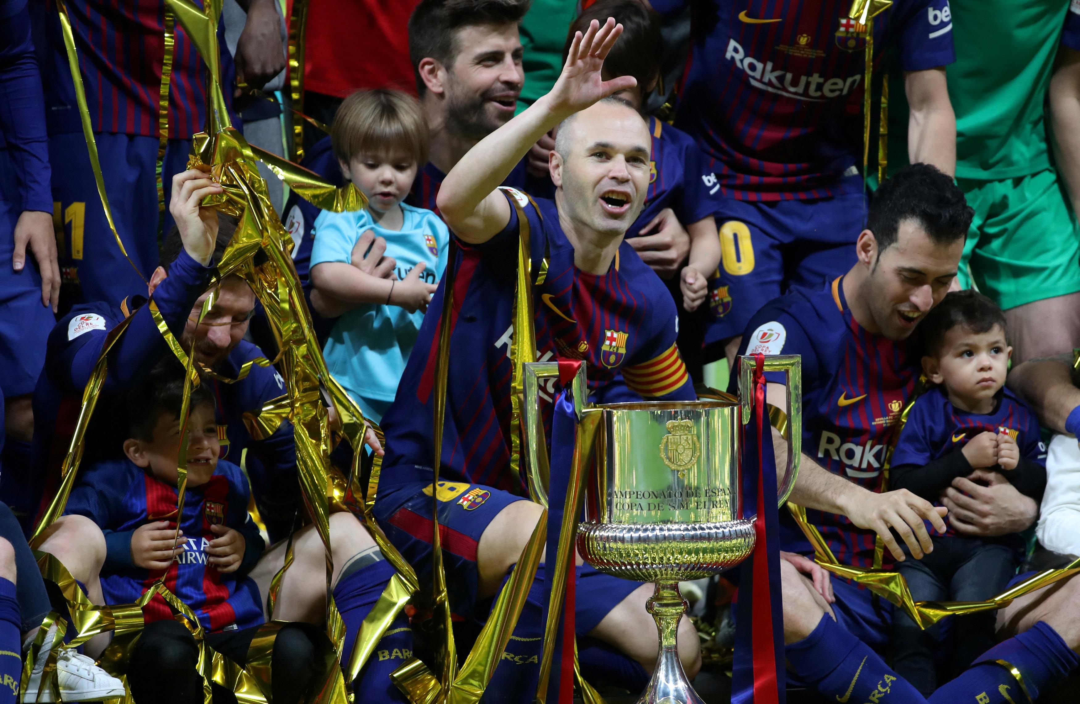 Iniesta podría anunciar este viernes su adiós al Barça