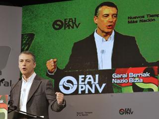 Íñigo Urkullu ha sido reelegido presidente del PNV