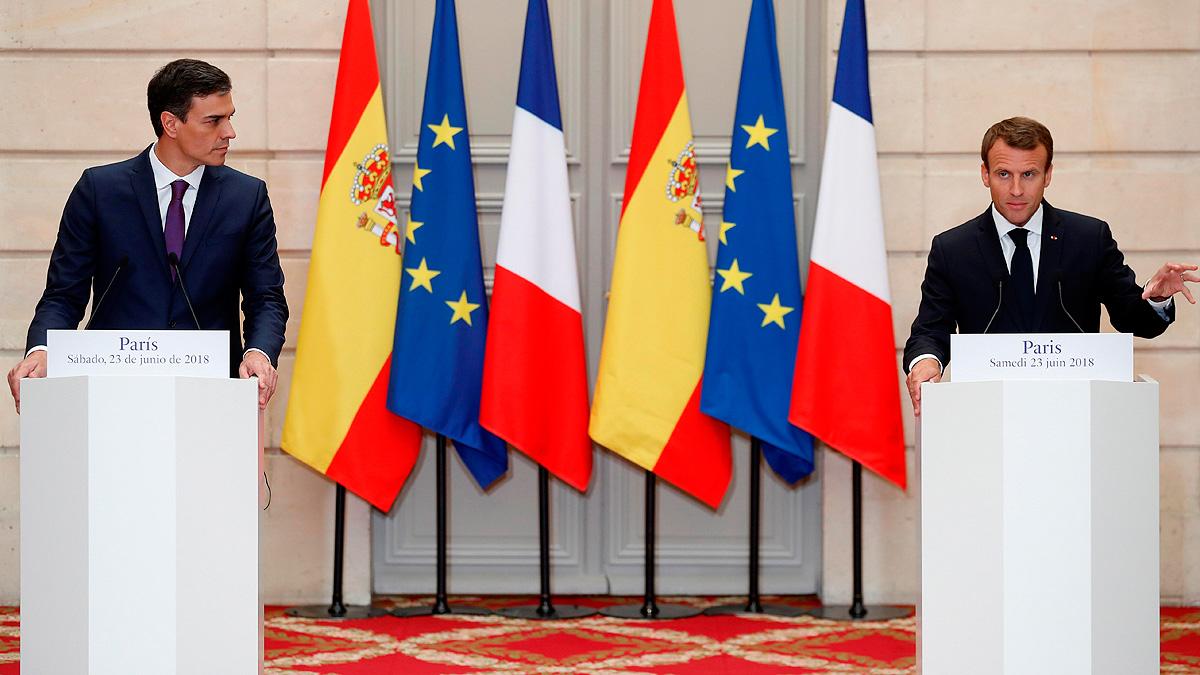 La inmigración centra el encuentro de Pedro Sánchez con Emmanuel Macron en París