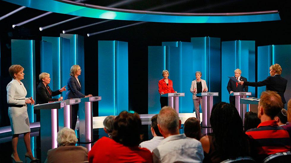 La inmigración y la economía centran el debate entre Johnson y Sturgeon sobre el referéndum del 'Brexit'