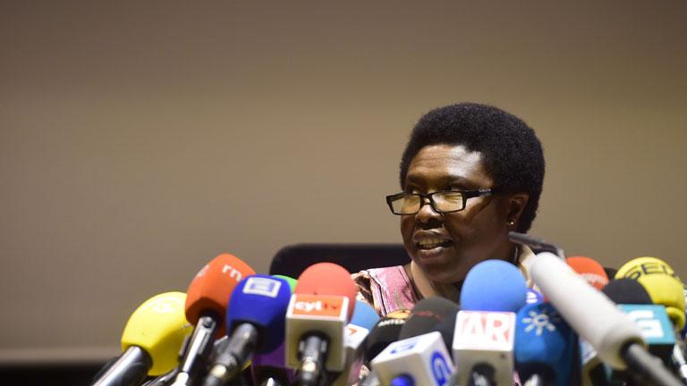 La hermana Paciencia, cuyo plasma ha ayudado a la auxiliar con ébola, dice que volvería a donar